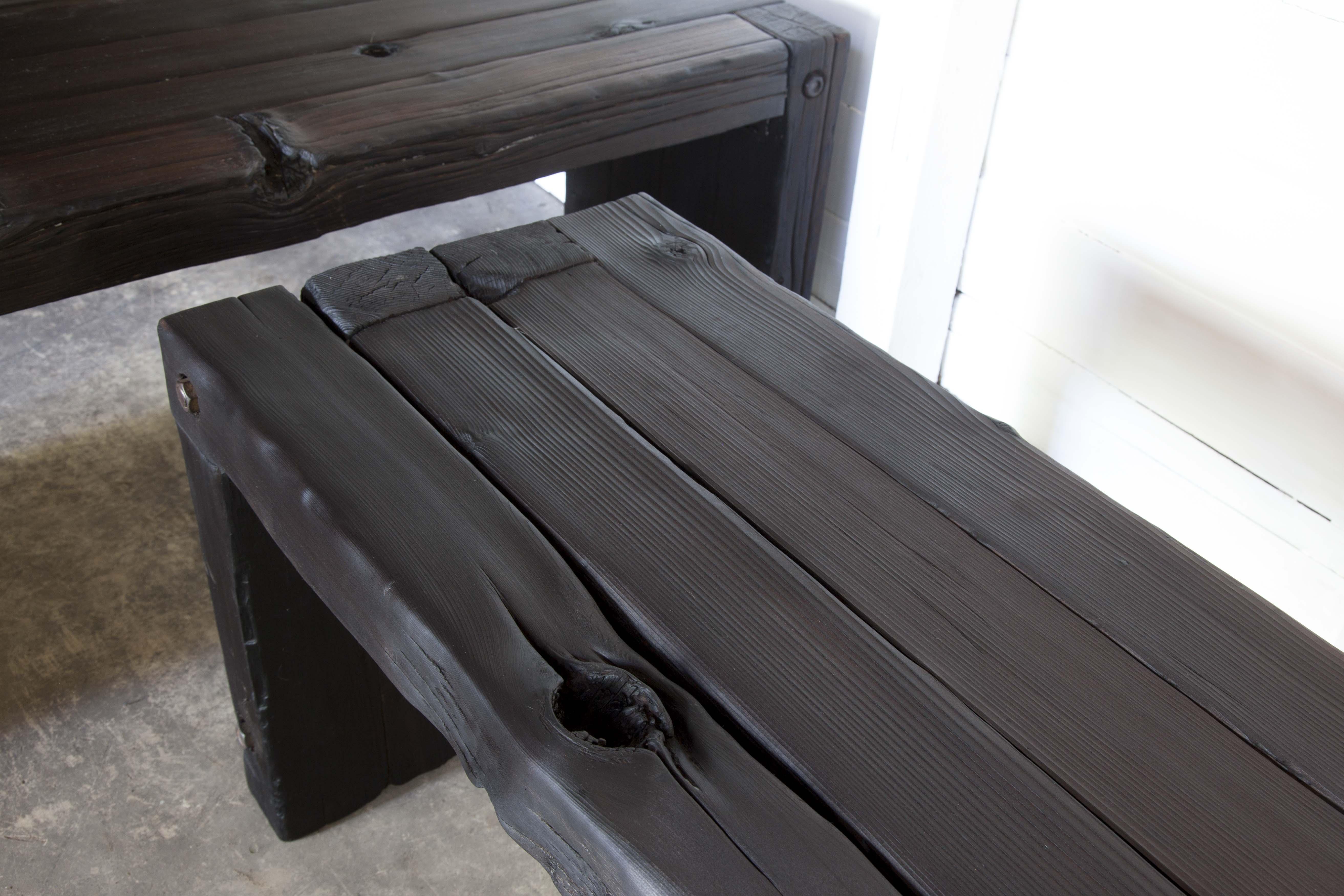 Yakisugi Parson Bench 171 Reduxindustry